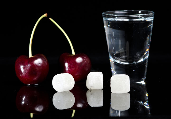 Cherry Vodka Candy