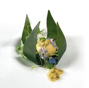 Croquanter leaf dish